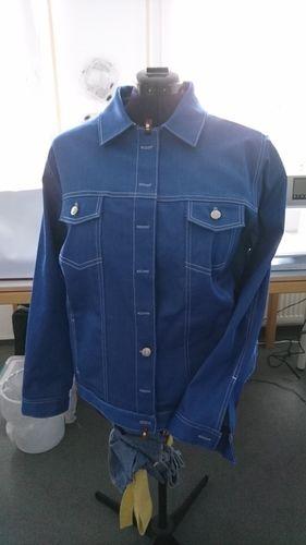 Makerist - Meine Jeansjacke für mich. Gemacht aus Stretchjeans - ich liebe sie - Nähprojekte - 1