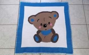 Makerist - Babydecke für kleine Jungs - 1