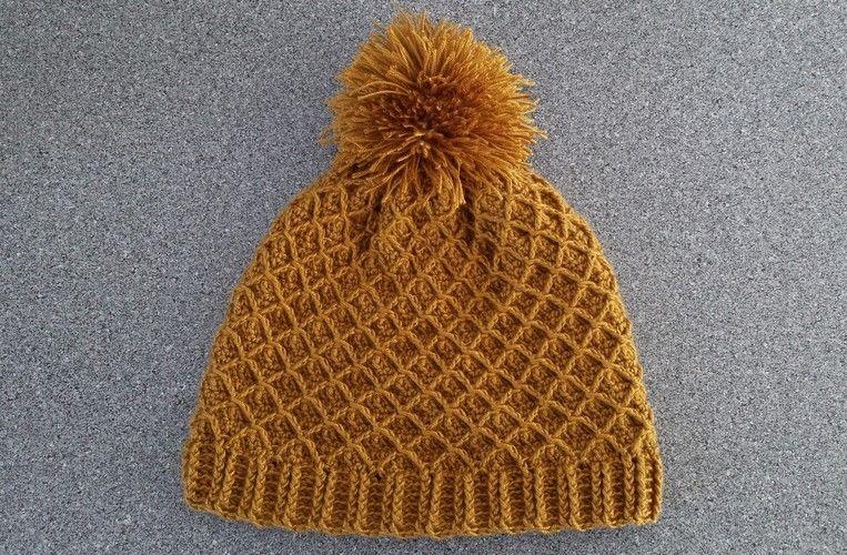 Makerist - Mütze mit Netzmuster - Häkelprojekte - 1