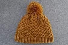Makerist - Mütze mit Netzmuster - 1