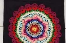 Makerist - Stofftaschen mit Mandalas - 1