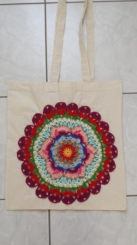 Makerist - Stofftaschen mit Mandalas - Häkelprojekte - 2