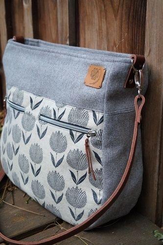 Makerist - Tasche Maha von Zaubernahnna - Nähprojekte - 2