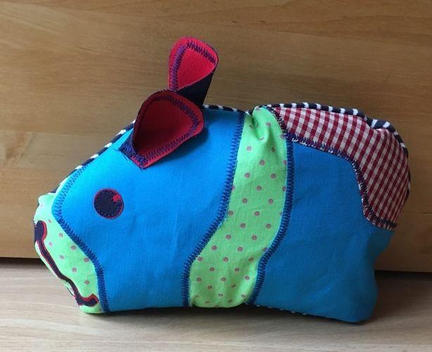Makerist - Piggy- Geburtstagsgeschenk - Nähprojekte - 1