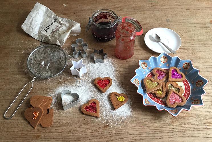 Makerist - Weihnachtsplätzchen aus Filz gefüllt mit Marmelade - Nähprojekte - 1