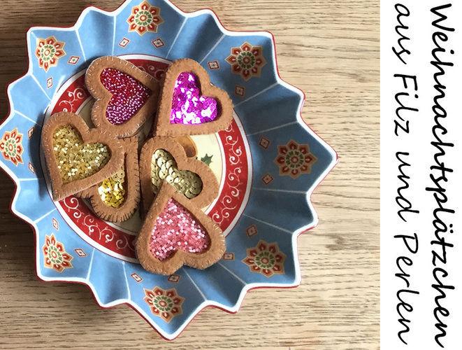 Makerist - Weihnachtsplätzchen aus Filz gefüllt mit Marmelade - Nähprojekte - 2