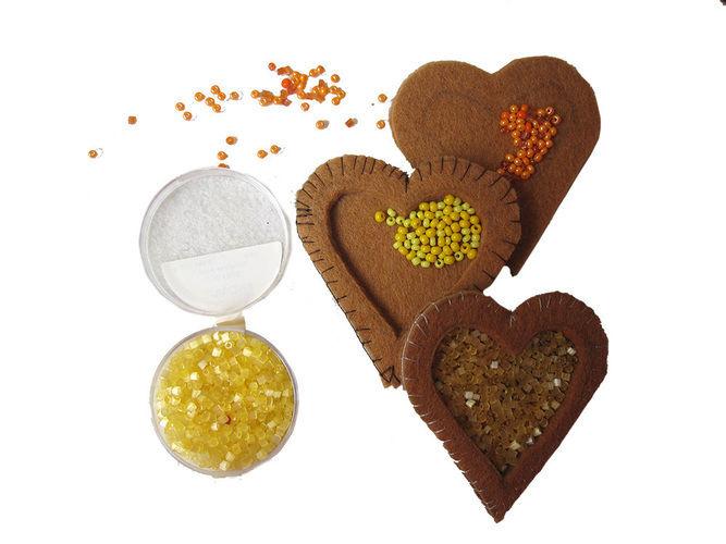 Makerist - Weihnachtsplätzchen aus Filz gefüllt mit Marmelade - Nähprojekte - 3