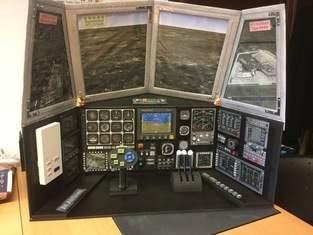 Makerist - Flugzeug-Cockpit aus Pappe - 1