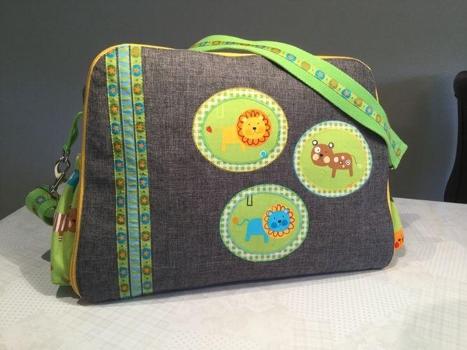 Makerist - Wickeltasche für meinen Enkel - Nähprojekte - 1