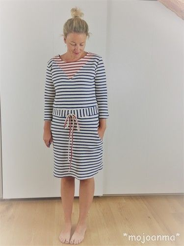 Makerist - Kleid Noa - Maritim - Nähprojekte - 1