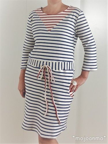 Makerist - Kleid Noa - Maritim - Nähprojekte - 2