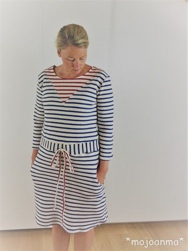 Makerist - Kleid Noa - Maritim - Nähprojekte - 3