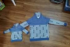 Makerist - Kuschel Pulli für Vater und Kind  - 1