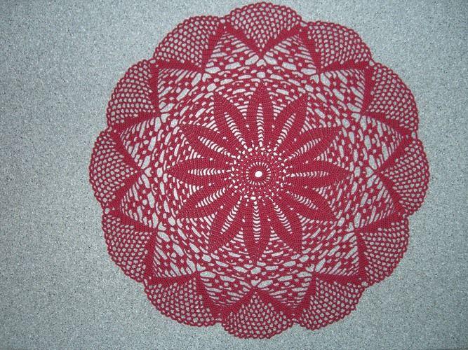Makerist - Deckchen ca. 50 cm DM  - Häkelprojekte - 1