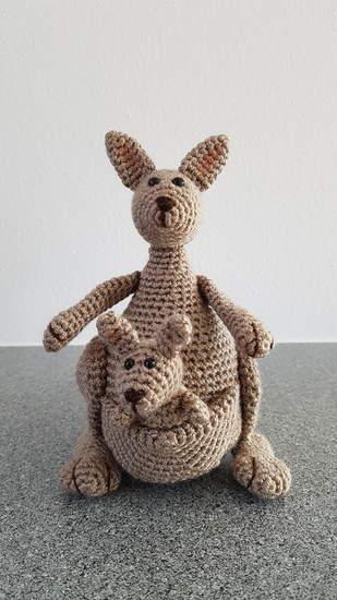 Makerist - Kängurumama mit Baby - 1