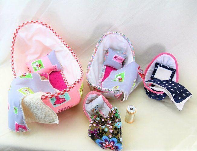 Makerist - Puppenbett in 4 Größen - Nähprojekte - 2