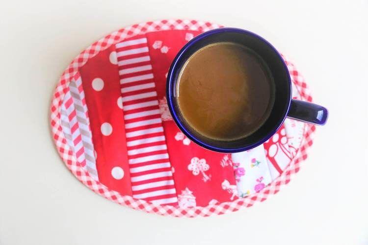 Makerist - Ovaler Mug Rug von SewSimple - Nähprojekte - 2