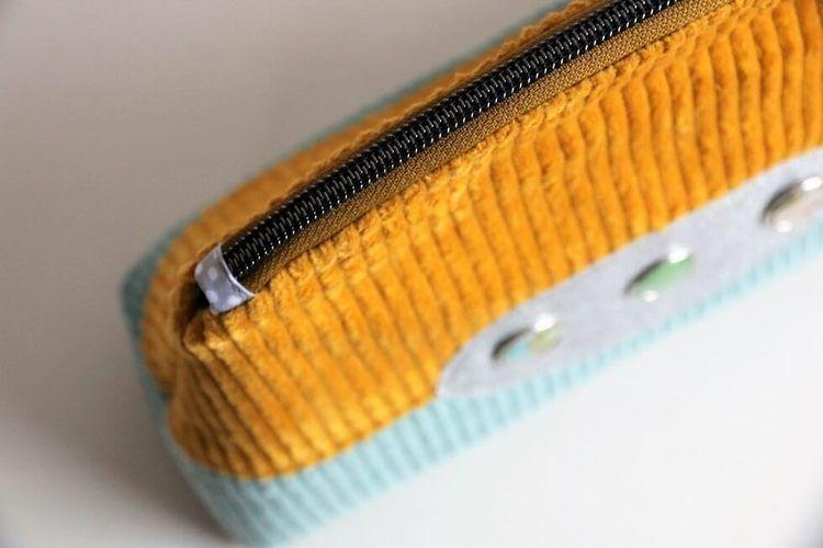 Makerist - Kosmetiktasche Rheingold - Nähprojekte - 1