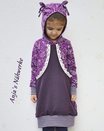 Makerist - Hoodiekleid Aurelia für meine Tochter aus Jersey. - Nähprojekte - 1
