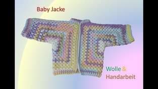 Makerist - Baby Jacke häkeln - 1