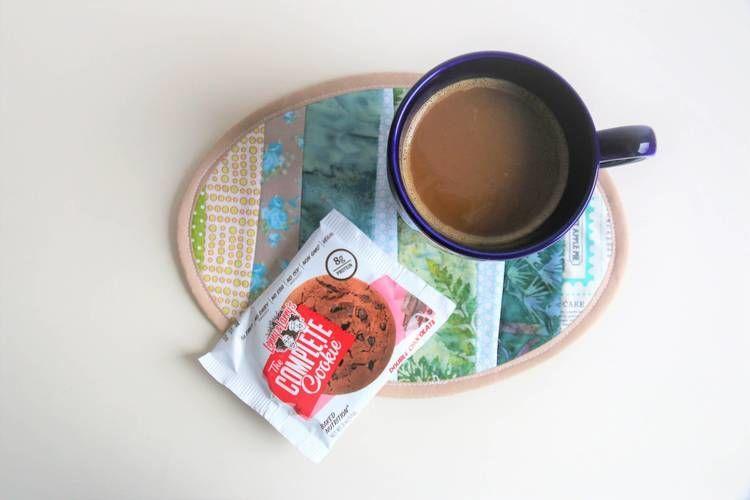 Makerist - Ovaler Mug Rug - Nähprojekte - 3