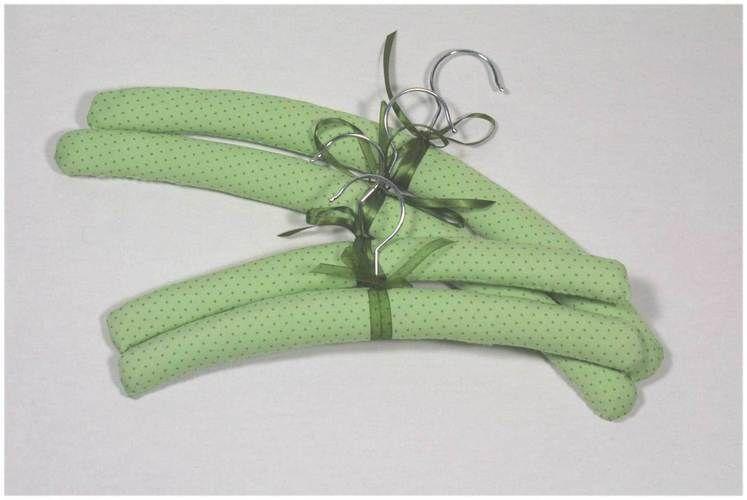 Makerist - Hübsch aufhängen, Kleiderbügel mit Stoff beziehen - Nähprojekte - 1