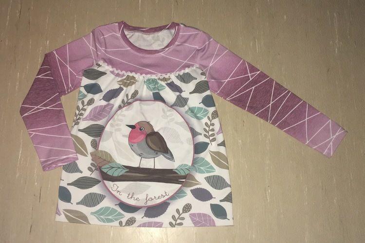 Makerist - Girly Shirts für meine Tochter in Größe 110 - Nähprojekte - 1