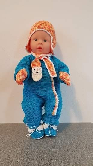 Makerist - Schianzug für Babypuppe - 1