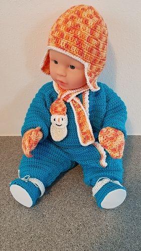 Makerist - Schianzug für Babypuppe - Häkelprojekte - 2