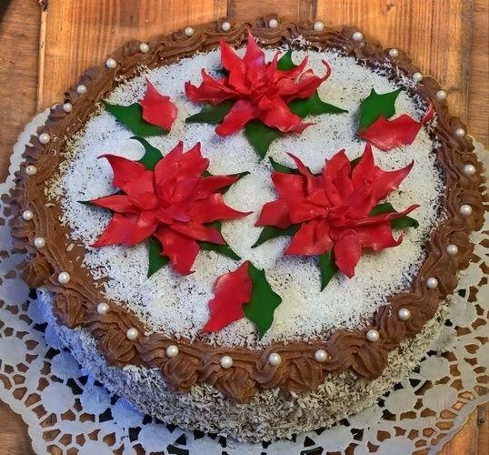 Makerist - Weihnachtssterne  - Torten, Cake Pops und Cupcakes - 2