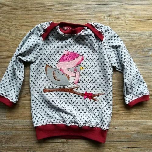 Makerist - Schlupfshirt für Patenkind - Nähprojekte - 1