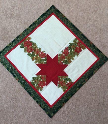 Makerist - Eine Weihnachtsdecke. Diese habe ich für mich genäht - Patchwork-Projekte - 1