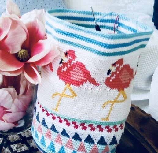 Makerist - Tanz der Flamingos  - Häkelprojekte - 1
