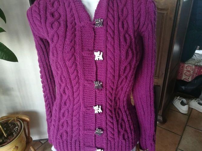 974828c3af19 Veste Valérie  de Marie-Christine R. - Créations de tricot