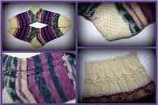 Makerist - Socken mit Zöpfchen - 1