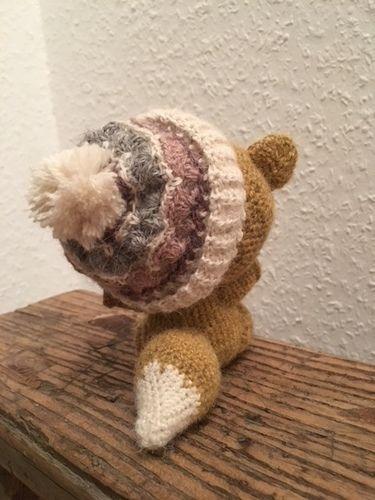 Makerist - Winterfuchs - Häkelprojekte - 1