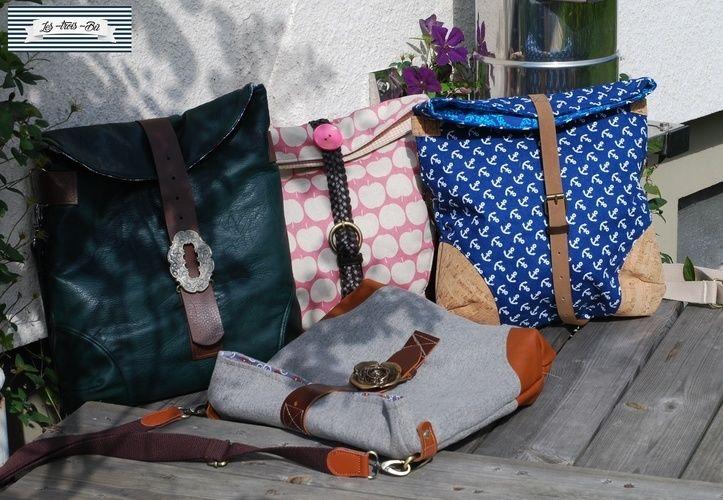 Makerist - Büddel Bag Marei - GürtelUpcycling - Nähprojekte - 1