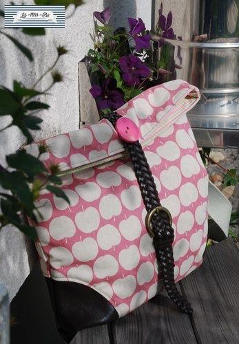 Makerist - Büddel Bag Marei - GürtelUpcycling - Nähprojekte - 2