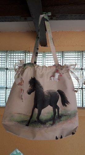 Makerist - Tasche mit Pferd - Nähprojekte - 1