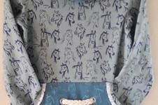 Makerist - Shirt mit Stehkragen und Bauchtasche für Othelia - 1