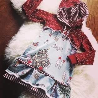 Makerist - Wichtel-Weihnachtskleid in Gr. 98 - 1