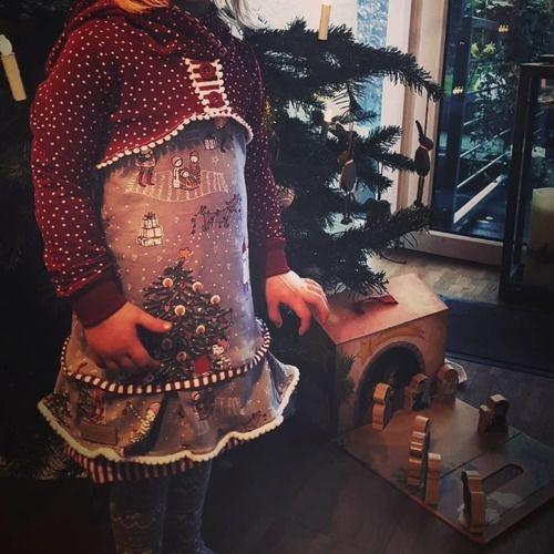 Makerist - Wichtel-Weihnachtskleid in Gr. 98 - Nähprojekte - 2