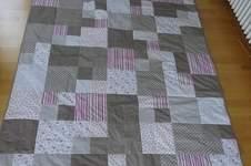 Makerist - Meine erste Patchwork-Decke!  - 1