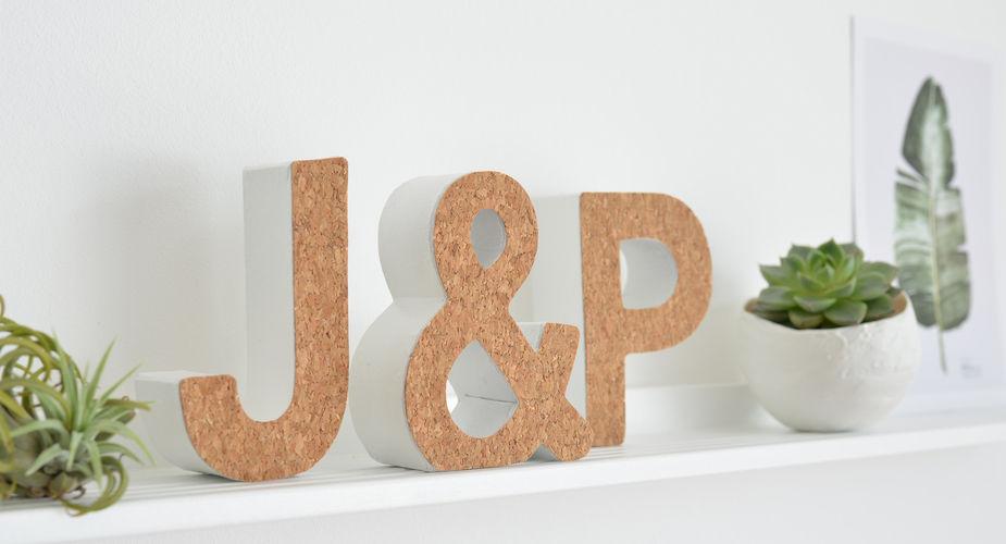 Makerist - DIY-Typo mit selbstklebendem Korkstoff - DIY-Projekte - 1