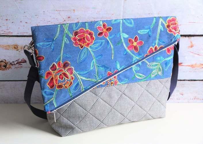 Makerist - Foldover Tasche San Diego - Nähprojekte - 1