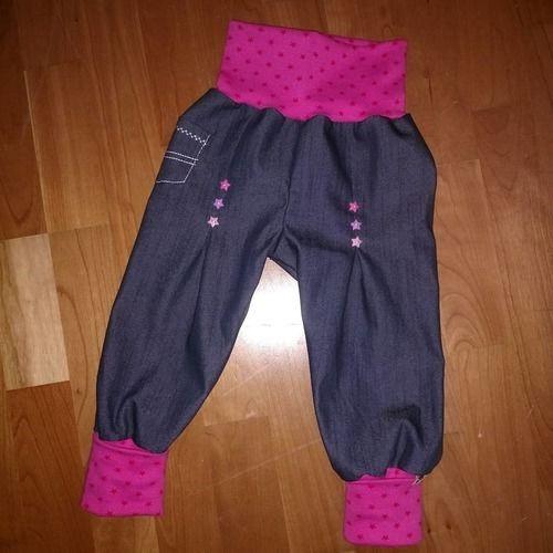 Makerist - Karl Knopf aus Jeans mit Stretchanteil für meine Räuberprinzessin - Nähprojekte - 1
