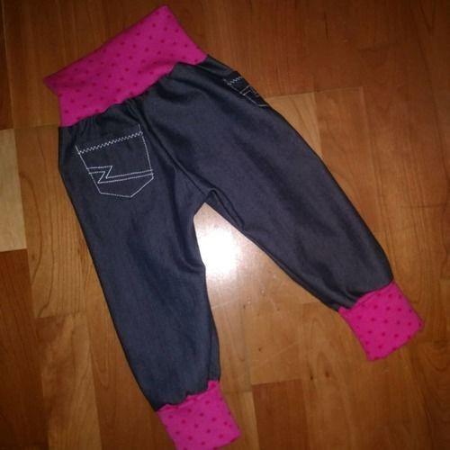 Makerist - Karl Knopf aus Jeans mit Stretchanteil für meine Räuberprinzessin - Nähprojekte - 2