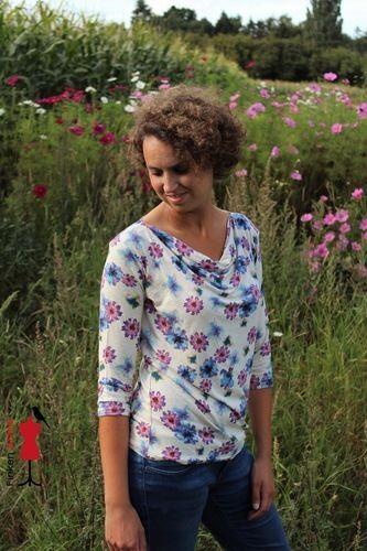 Makerist - Clare von Drei EM's aus Viskosejersey  - Nähprojekte - 2