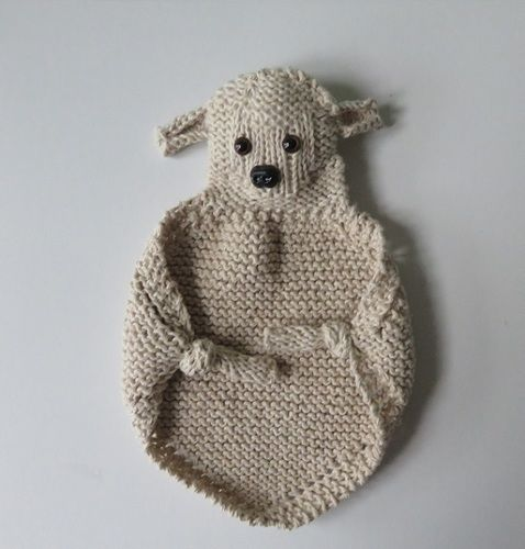 Makerist - Doudou Mouton - Créations de tricot - 1
