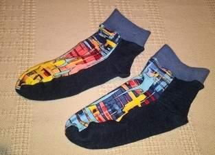 Makerist - Socken aus Resten und altem Pullover - 1